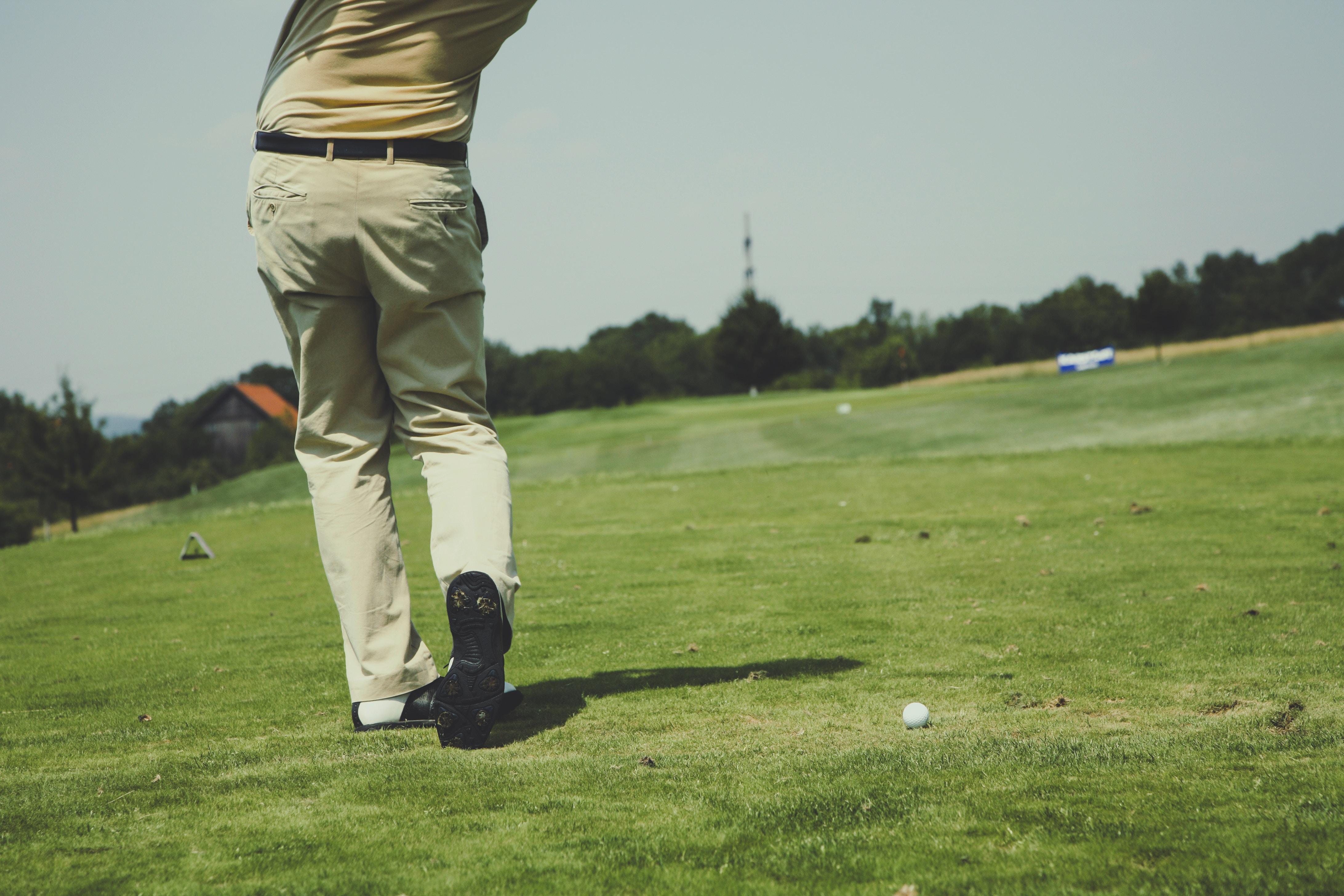 Hvordan  å  spille  golf